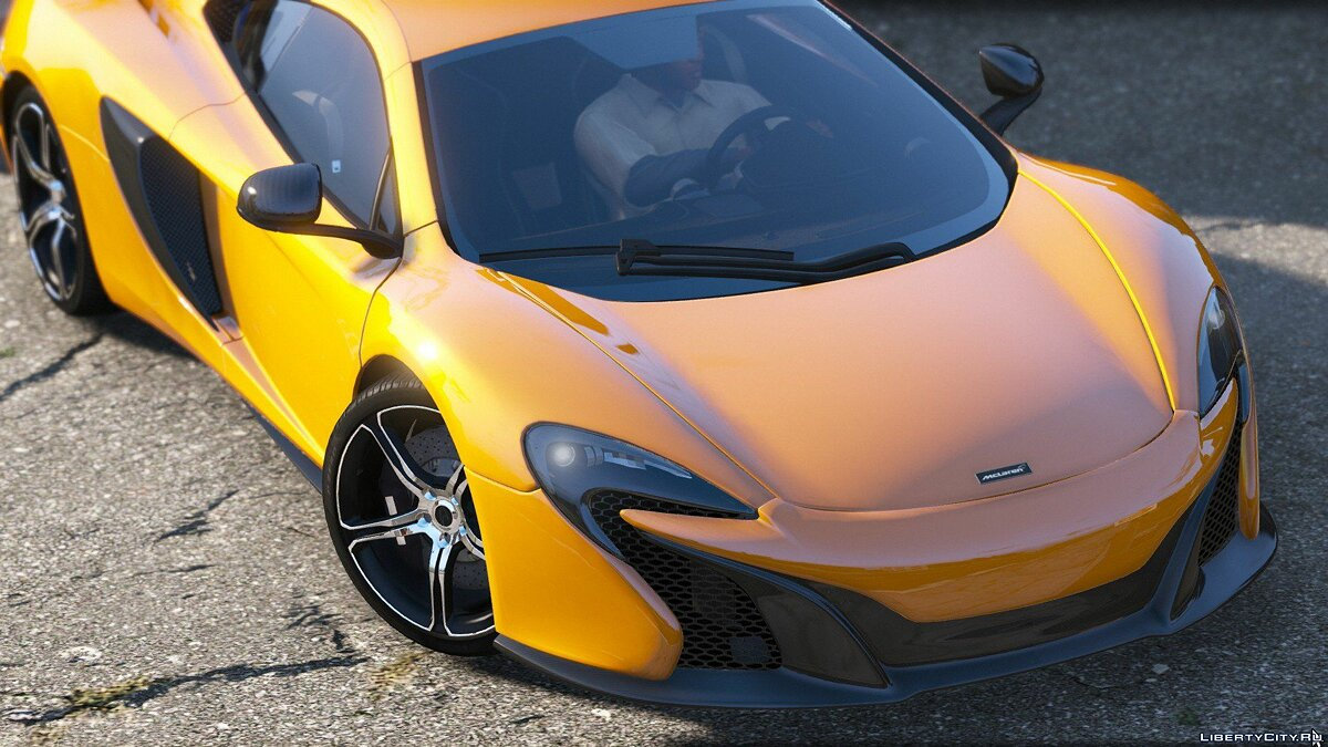 McLaren 650S Coupe [HQ | Replace] 3.5.1 для GTA 5