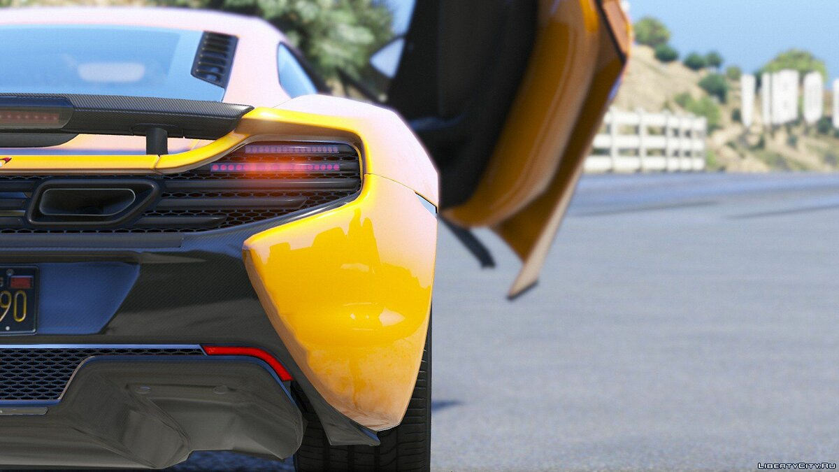 McLaren 650S Coupe [HQ | Replace] 3.5.1 для GTA 5 - скриншот #4