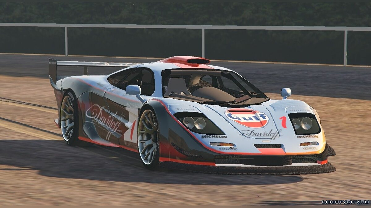 McLaren F1 GTR Longtail [Add-On/Replace] 2.0 для GTA 5 - скриншот #2