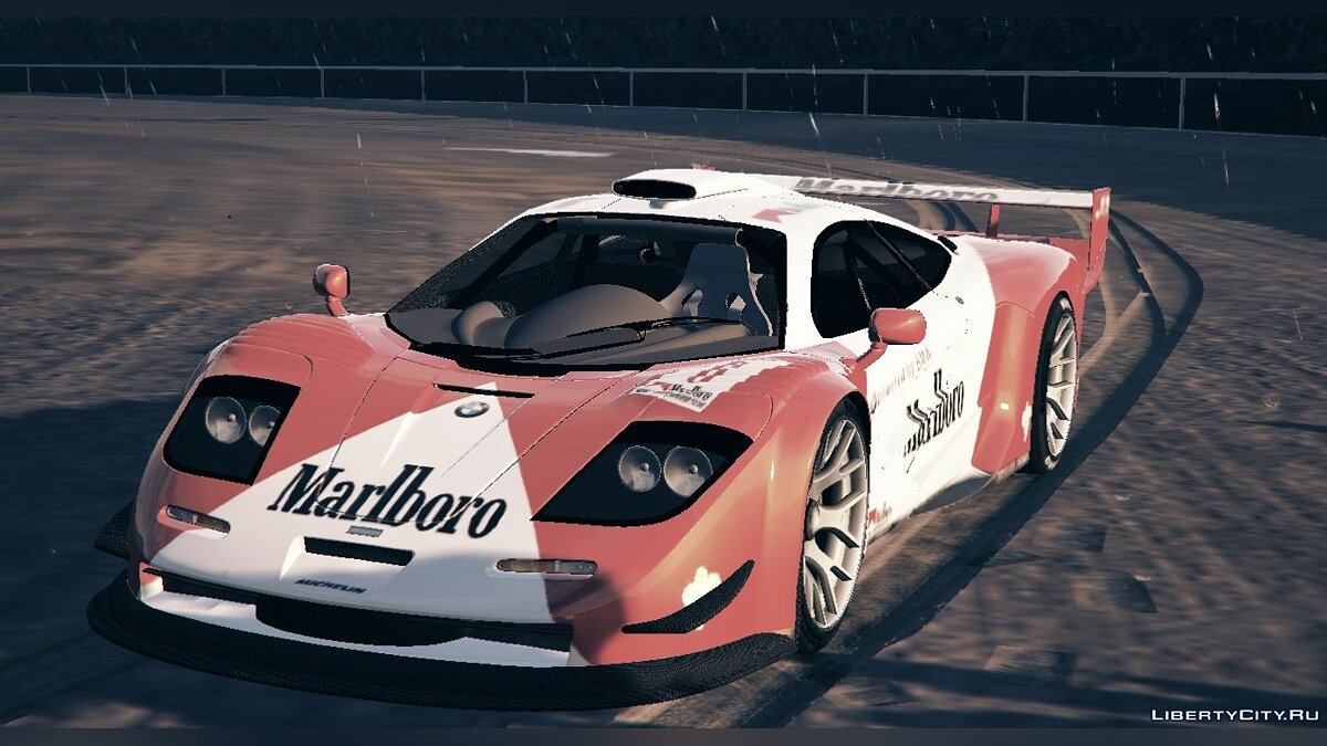 McLaren F1 GTR Longtail [Add-On/Replace] 2.0 для GTA 5 - скриншот #3