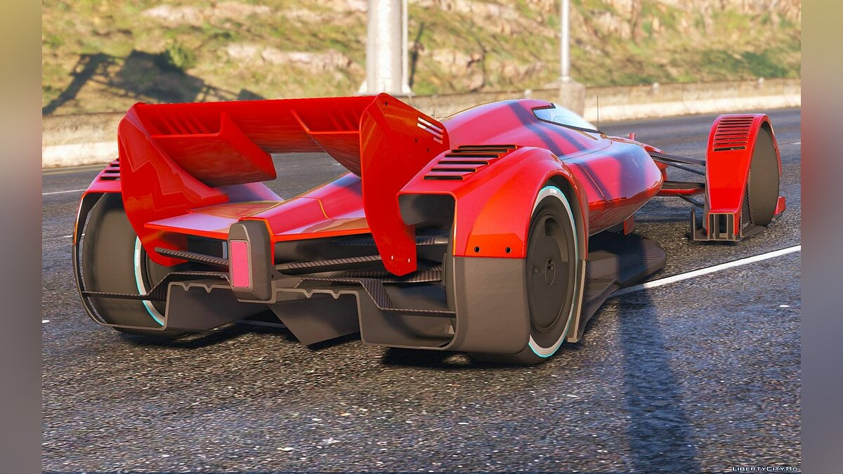 Машина McLaren 2016 McLaren MP4-X [Replace] [FINAL] для GTA 5