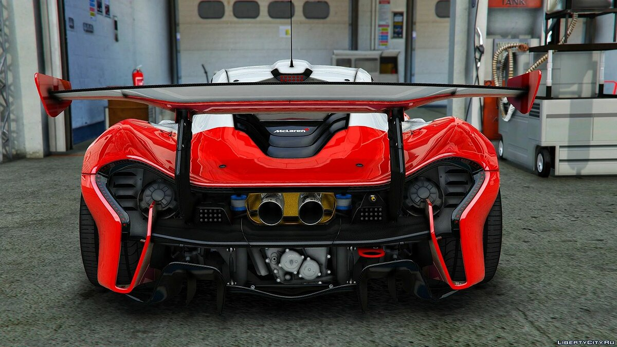 Машина McLaren McLaren P1 GTR [Add-On / OIV] 1.0 для GTA 5