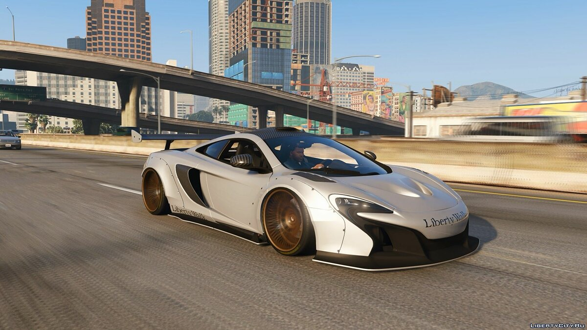 Машина McLaren 2015 McLaren 650S Coupe Liberty Walk [Add-On | Tuning] для GTA 5