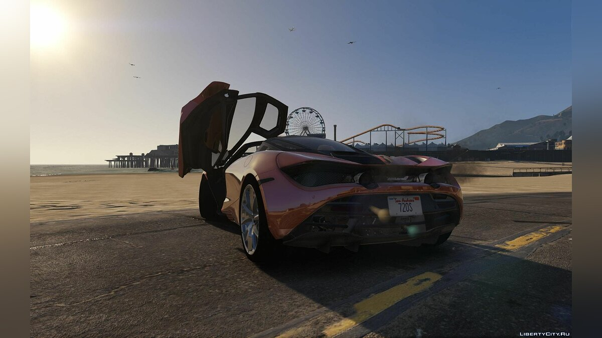 2017 McLaren 720S [Add-On | Tuning | HQ] 1.0 для GTA 5 - скриншот #2