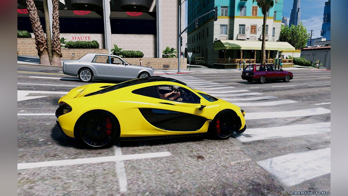 Mclaren P1 GT-R Edition [Add-On] для GTA 5 - скриншот #2