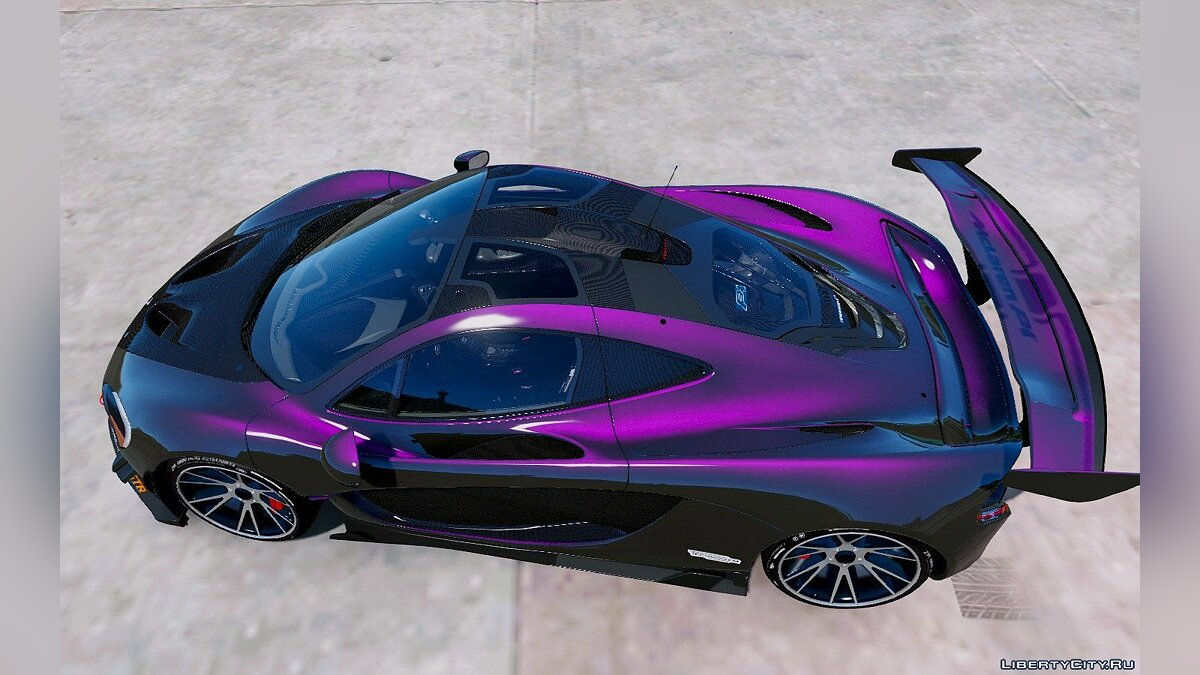 Машина McLaren Mclaren P1 GT-R Edition [Add-On] для GTA 5