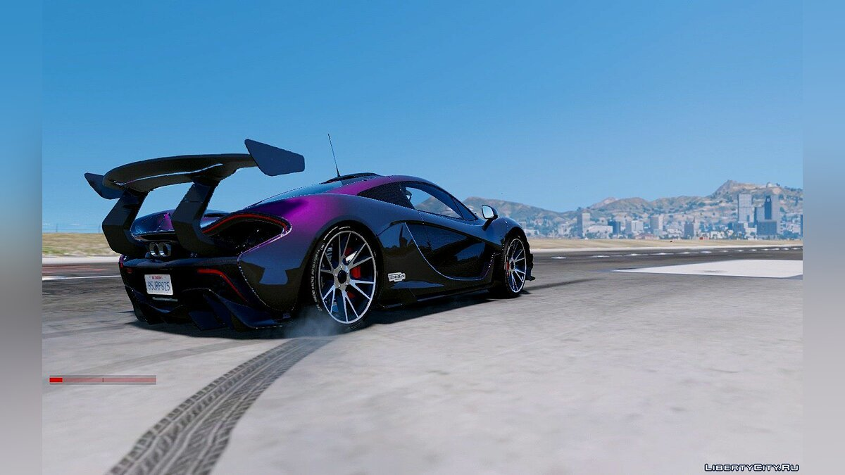 Mclaren P1 GT-R Edition [Add-On] для GTA 5 - скриншот #5
