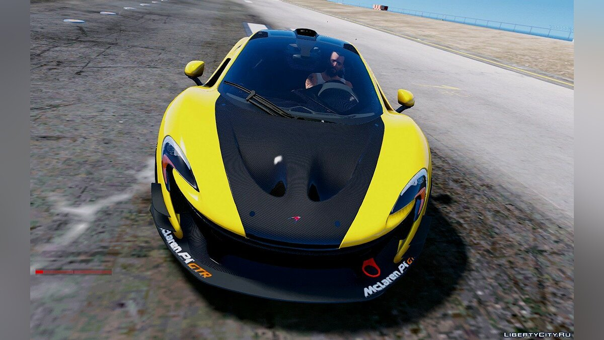 Mclaren P1 GT-R Edition [Add-On] для GTA 5 - скриншот #9