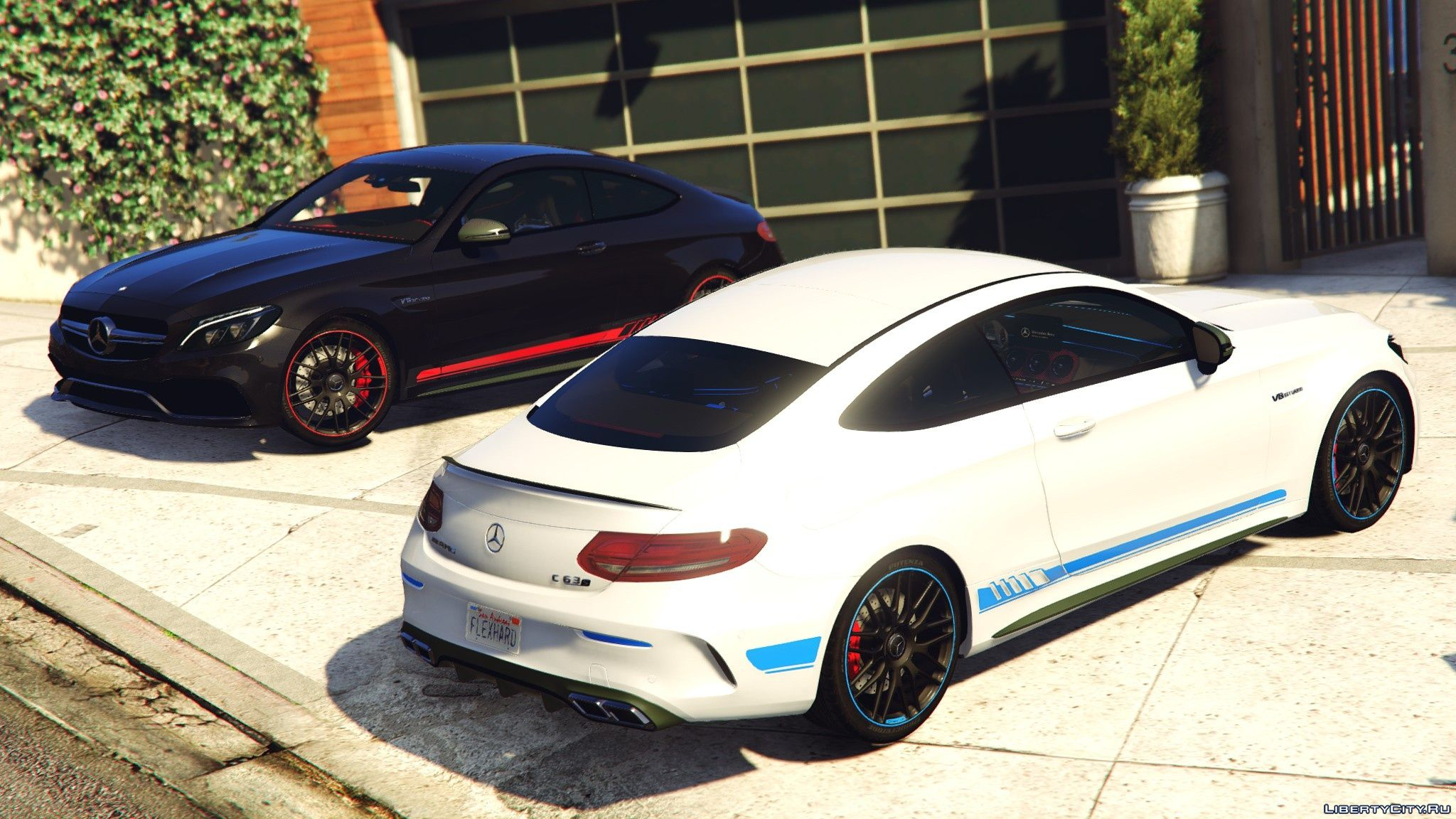 2017 mercedes c63s amg coupe full hq paintable replace 1 5 gta 5. Black Bedroom Furniture Sets. Home Design Ideas