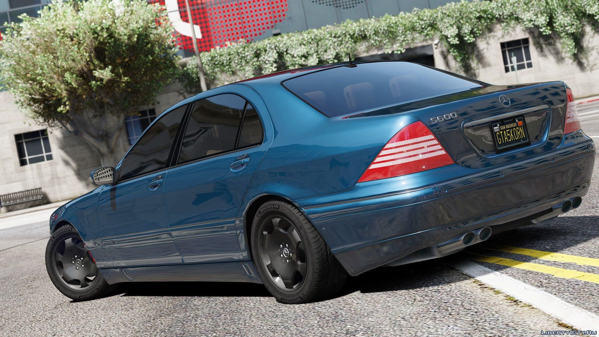 Mercedes benz s600 w220 2 0 gta 5 for Mercedes benz of minneapolis