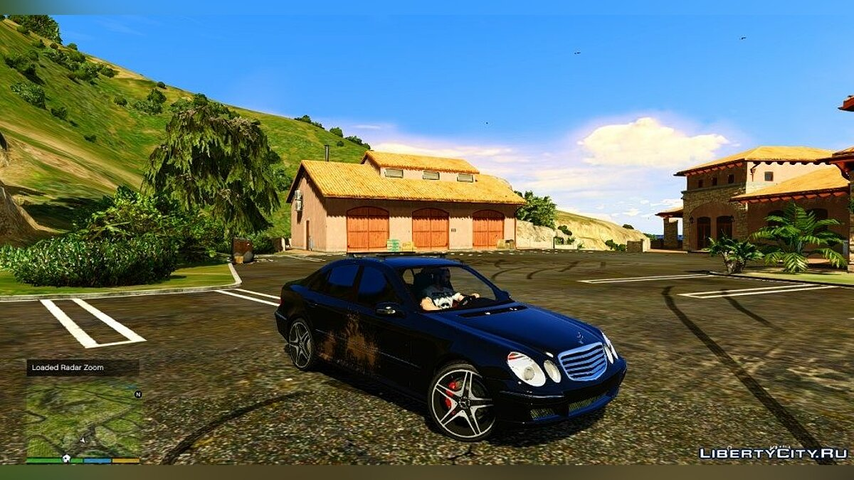 Mercedes-Benz E55 W211 ///AMG [Add-On] для GTA 5
