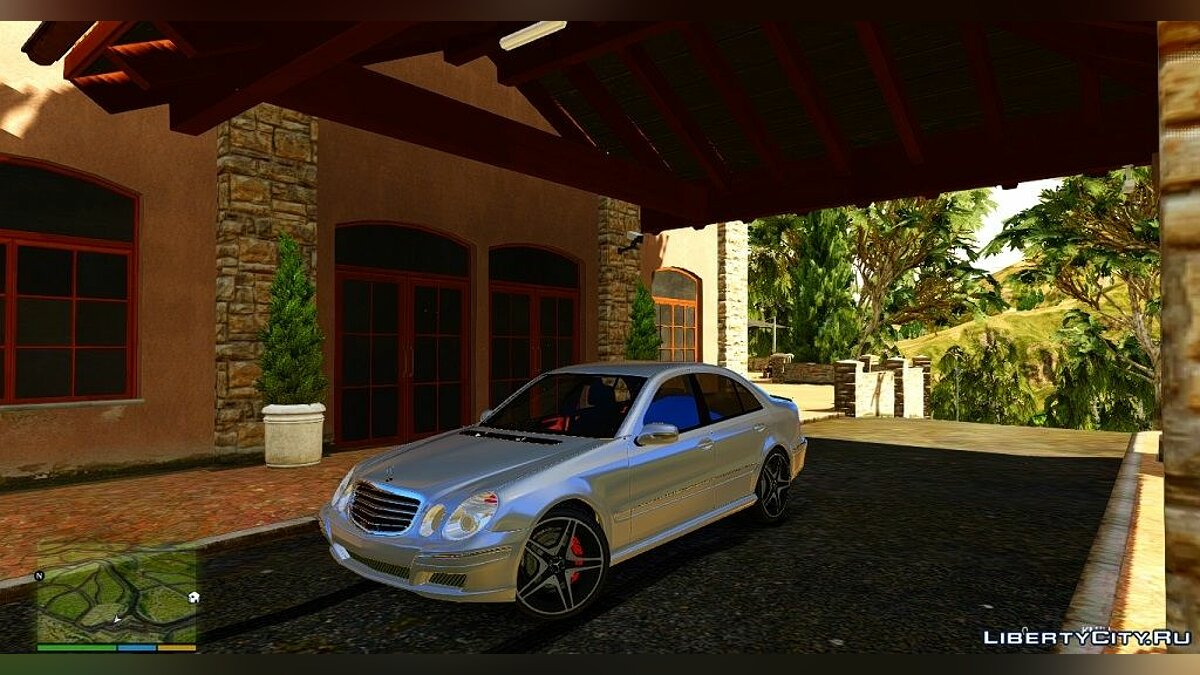 Mercedes-Benz E55 W211 ///AMG [Add-On] для GTA 5 - скриншот #3