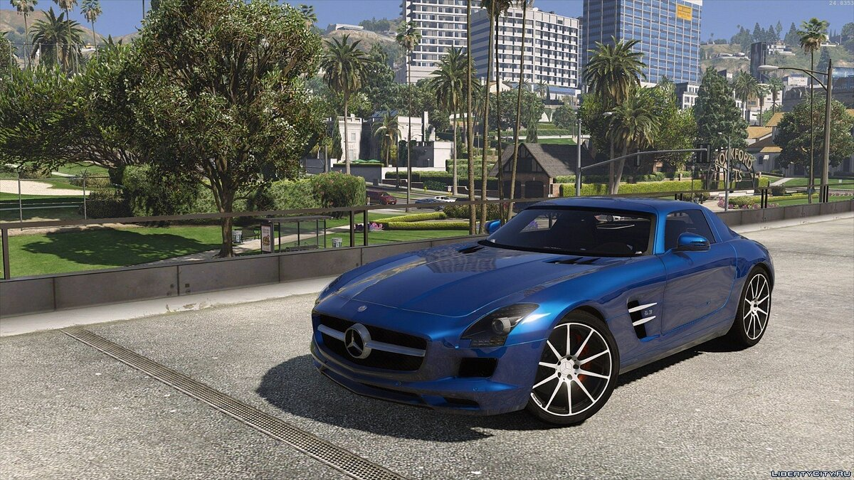 Mercedes SLS AMG | AUTOVISTA [Add-On / Replace | Template] для GTA 5 - скриншот #3