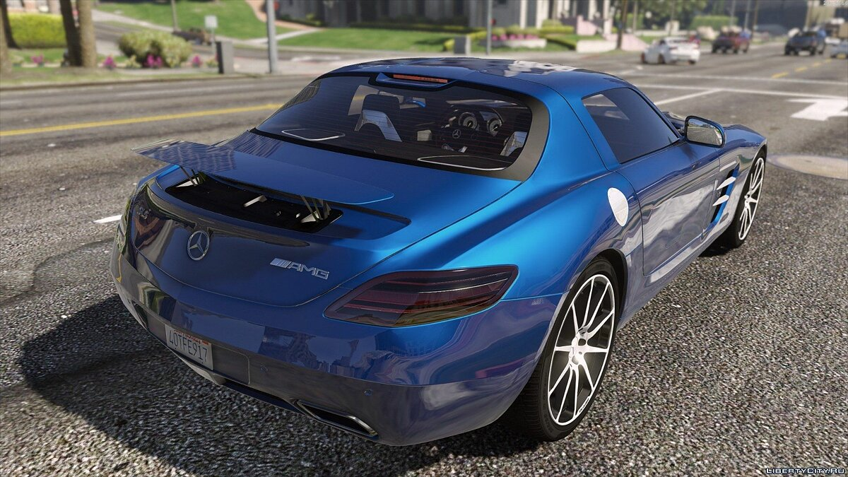 Mercedes SLS AMG | AUTOVISTA [Add-On / Replace | Template] для GTA 5 - скриншот #4
