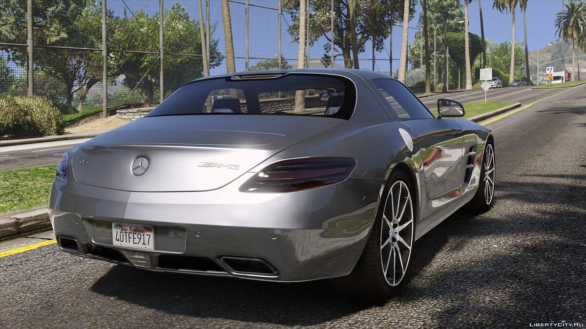 Mercedes SLS AMG | AUTOVISTA [Add-On / Replace | Template] для GTA 5
