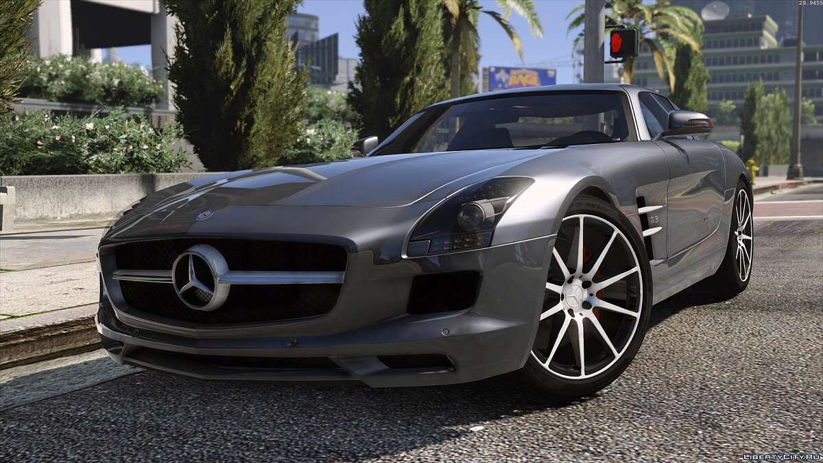 Mercedes SLS AMG | AUTOVISTA [Add-On / Replace | Template] для GTA 5 - скриншот #6