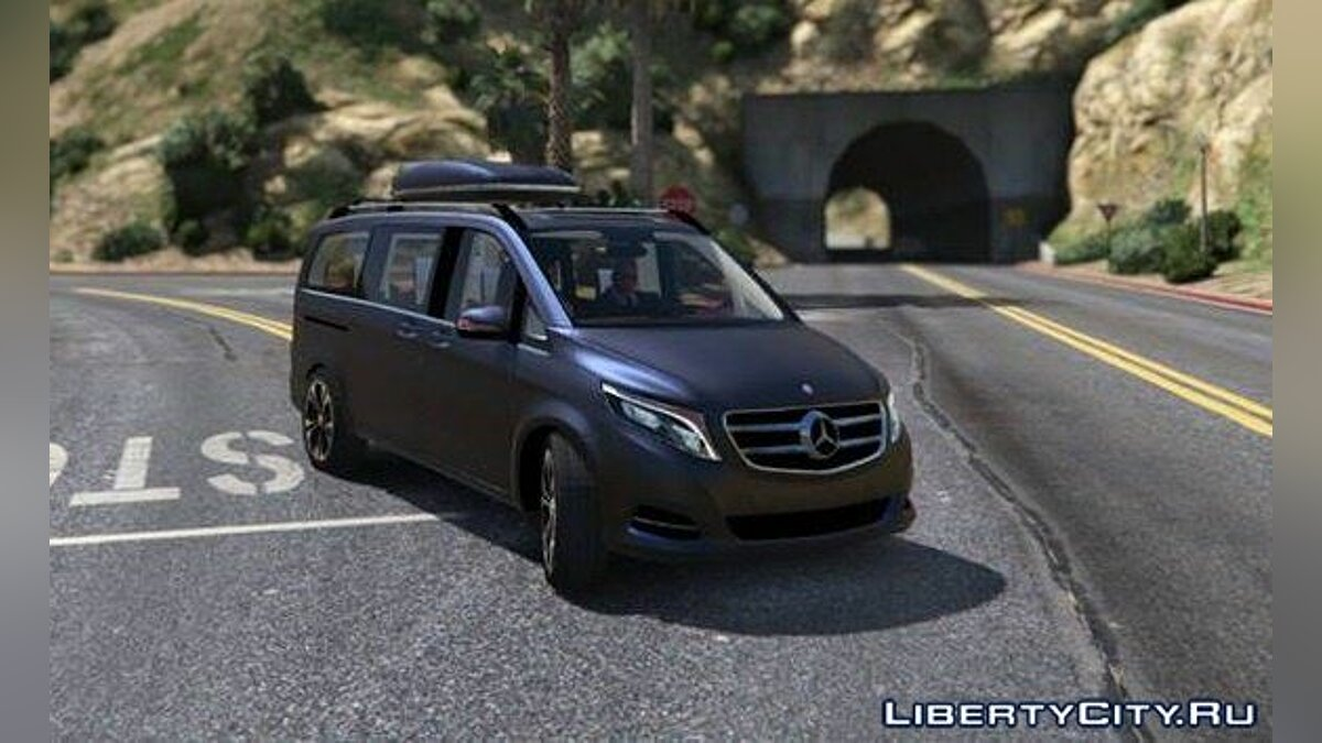 Mercedes-Benz V-class 250 Bluetec LWB [Add-On] 2.0 для GTA 5
