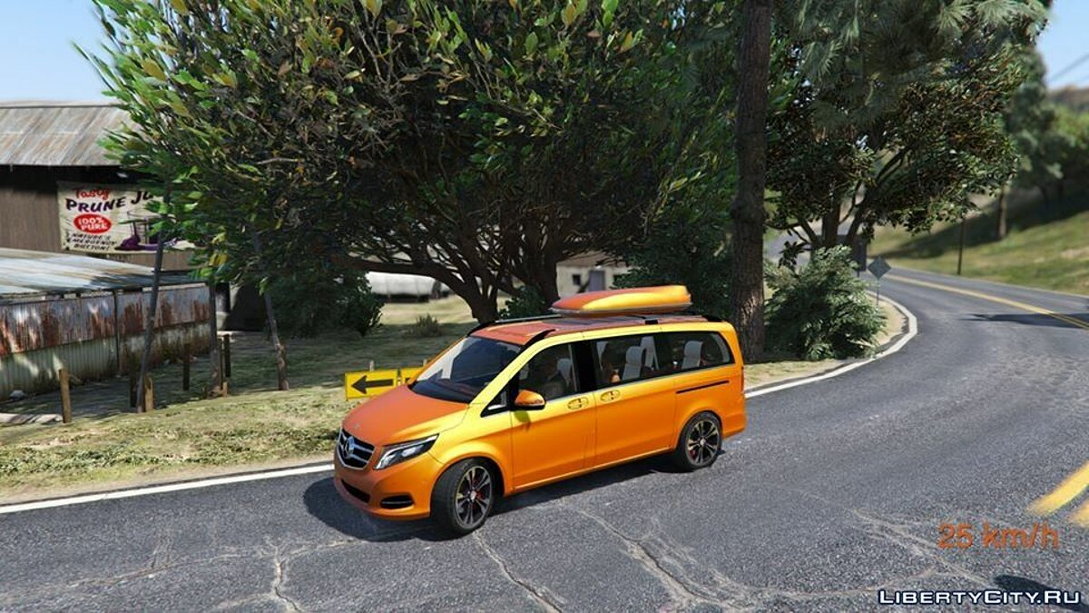 Mercedes-Benz V-class 250 Bluetec LWB [Add-On] 2.0 для GTA 5 - скриншот #2
