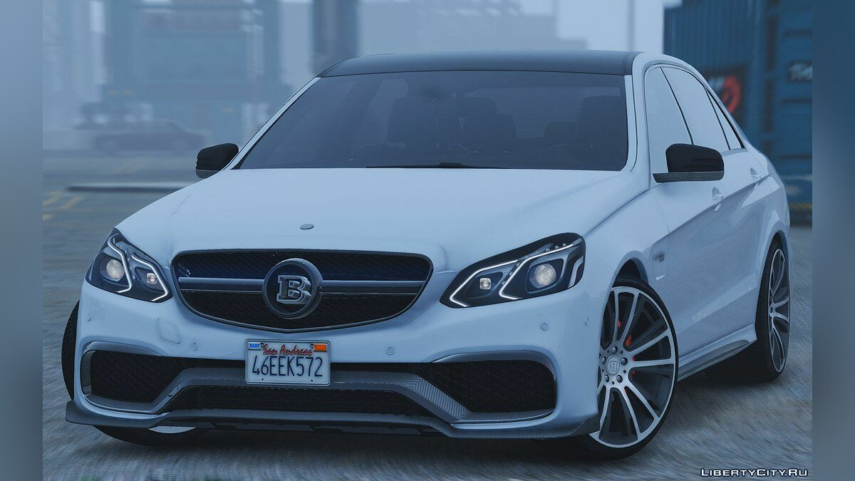 Mercedes-Benz E63 Brabus [Add-On / Replace] 2.0 для GTA 5