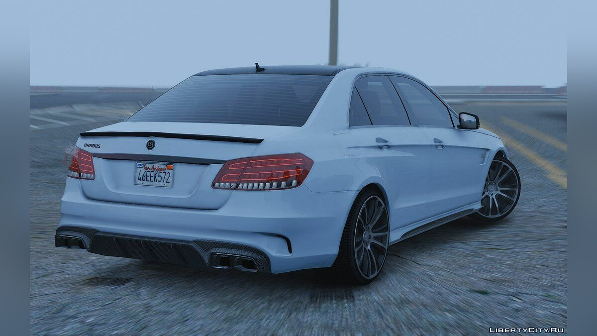 Mercedes-Benz E63 Brabus [Add-On / Replace] 2.0 для GTA 5 - скриншот #2