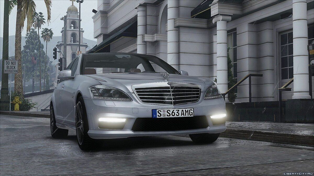 ��ашина Mercedes-Benz 2012 Mercedes-Benz S63 AMG (W221) [Add-On | Tuning] 1.0 для GTA 5