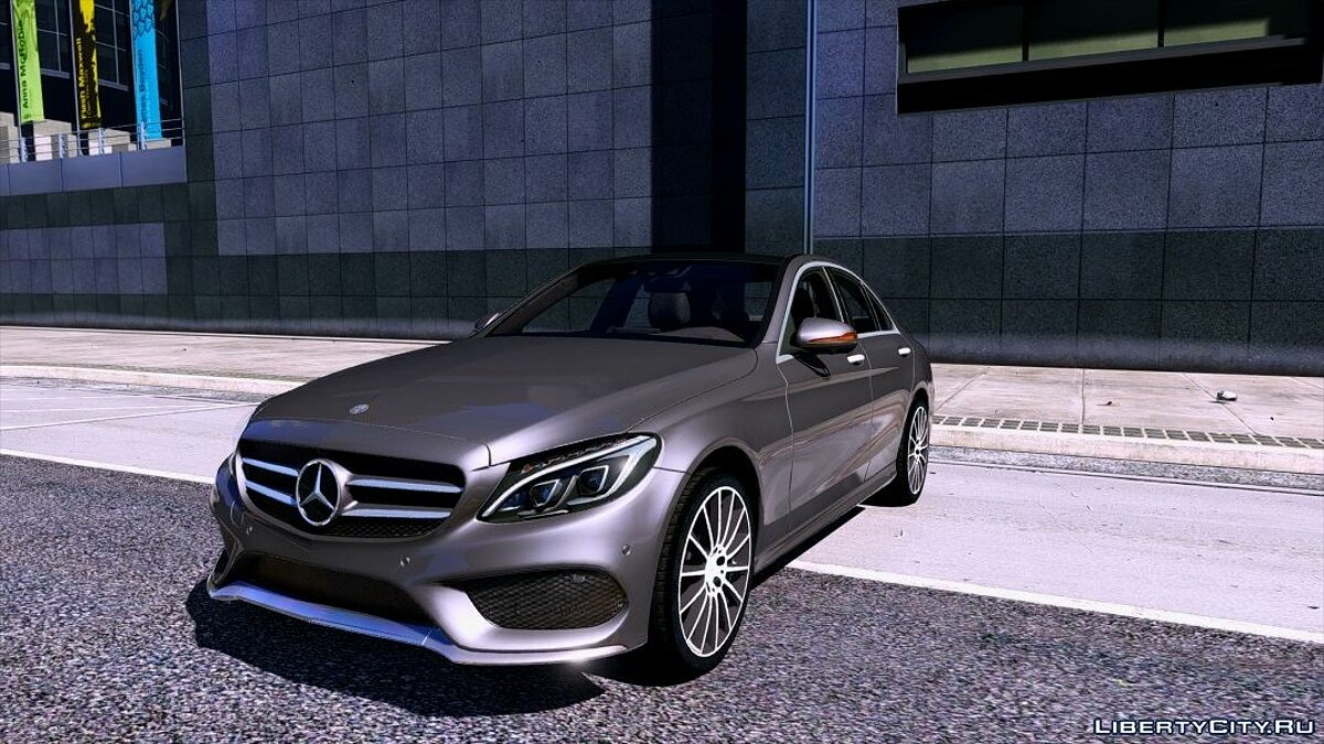 Mercedes-Benz C250 Sedan 2014 [Add-On] 2.0 для GTA 5