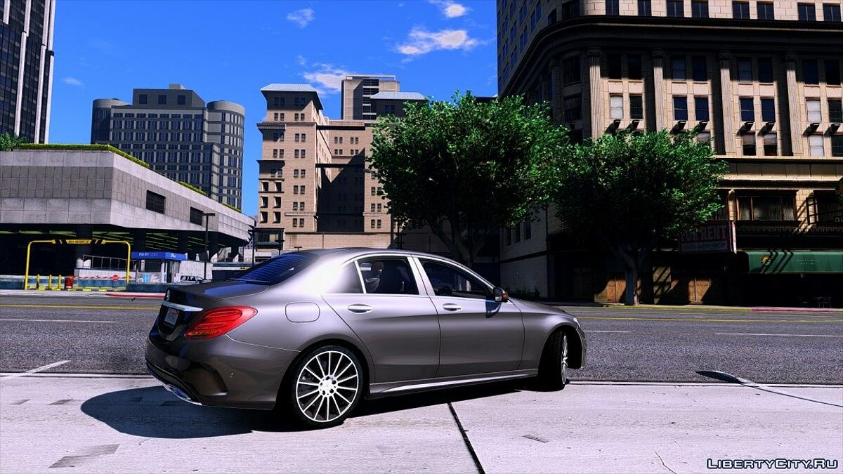 Mercedes-Benz C250 Sedan 2014 [Add-On] 2.0 для GTA 5 - скриншот #2