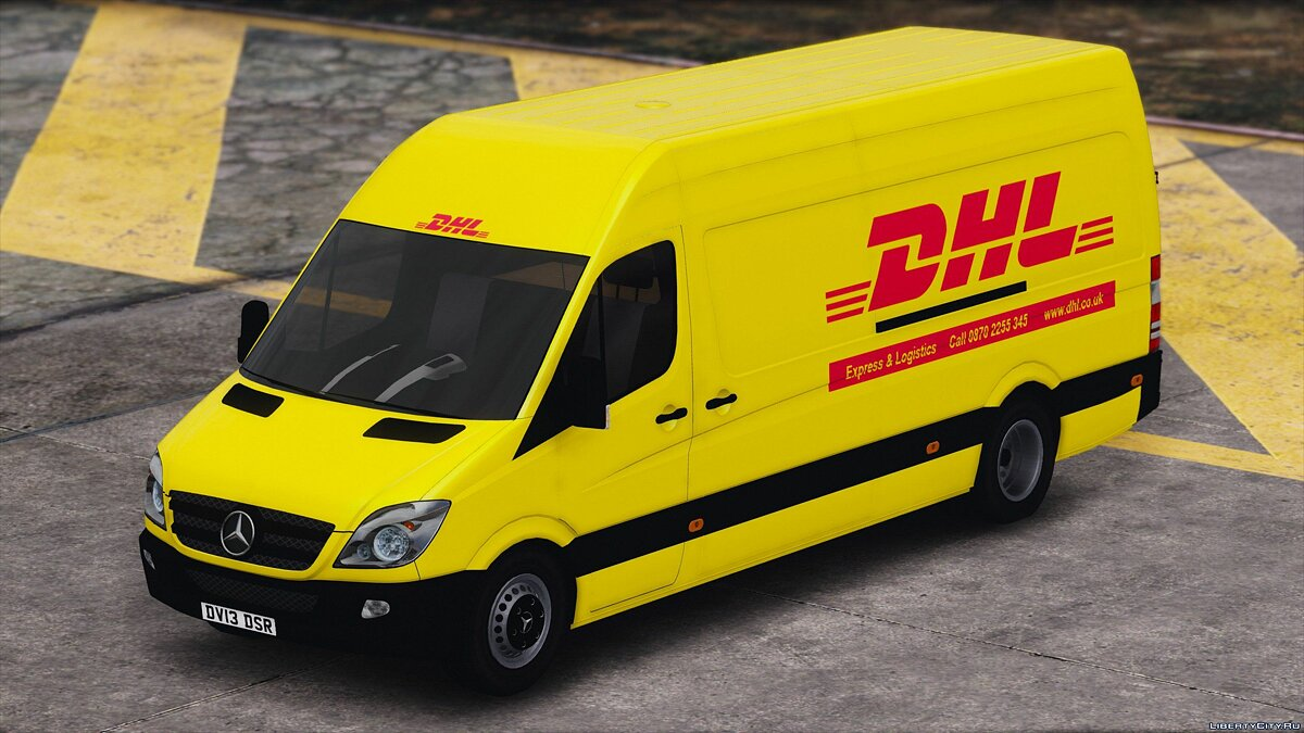 2013 Cargo Delivery Mercedes Sprinter 1.0 для GTA 5