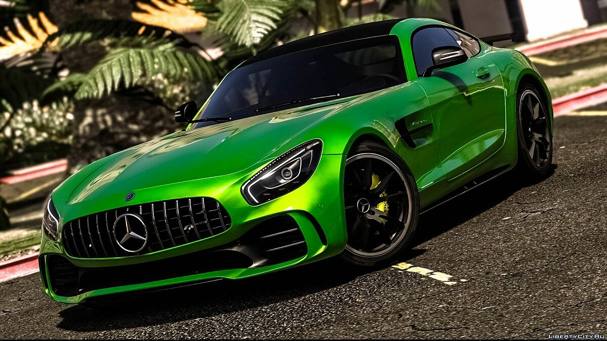 Mercedes-Benz AMG GT R 2017 [Add-On / Replace | Template] 3.0 для GTA 5