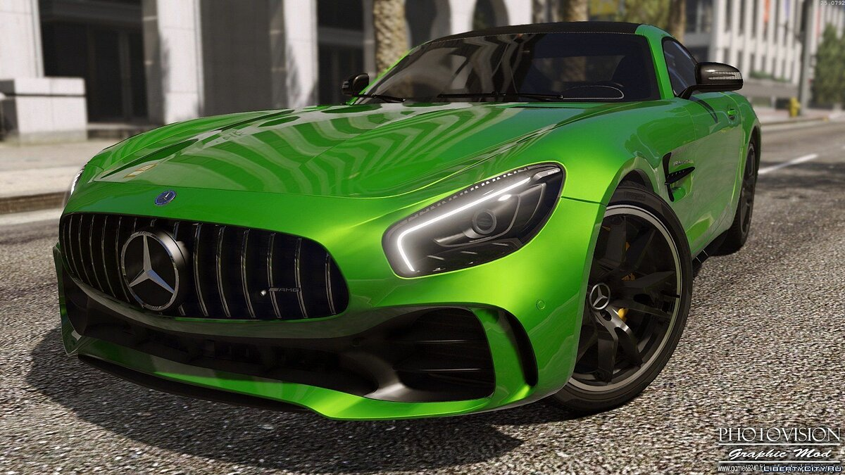 Mercedes-Benz AMG GT R 2017 [Add-On / Replace | Template] 3.0 для GTA 5 - скриншот #2