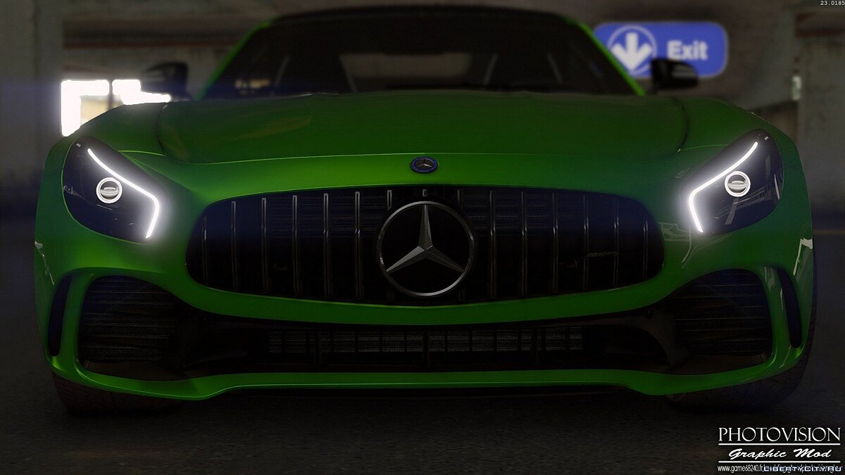 Mercedes-Benz AMG GT R 2017 [Add-On / Replace | Template] 3.0 для GTA 5 - скриншот #3