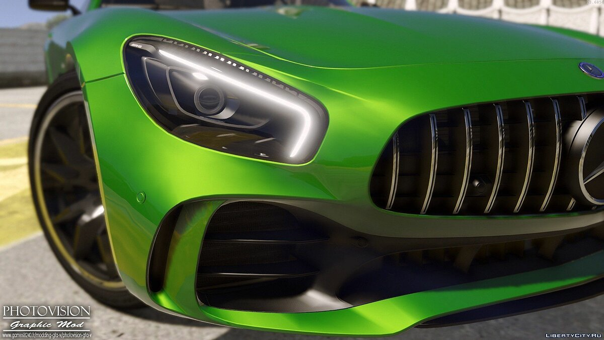 Mercedes-Benz AMG GT R 2017 [Add-On / Replace | Template] 3.0 для GTA 5 - скриншот #4