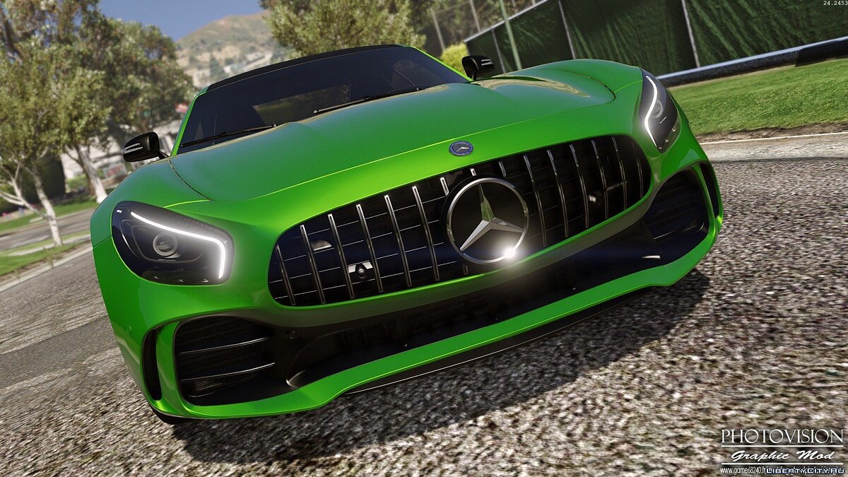 Mercedes-Benz AMG GT R 2017 [Add-On / Replace | Template] 3.0 для GTA 5 - скриншот #8
