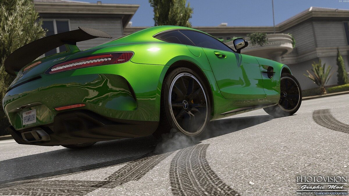 Mercedes-Benz AMG GT R 2017 [Add-On / Replace | Template] 3.0 для GTA 5 - скриншот #10