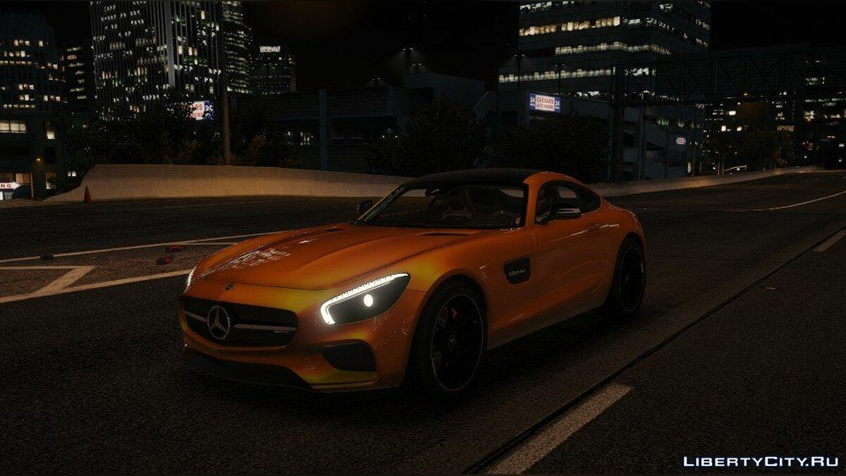 Mercedes-AMG GT S 2016 [Add-On / Replace / Auto Spoiler] 1.0 для GTA 5 - скриншот #2