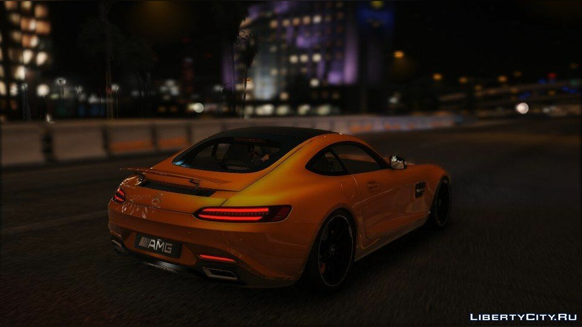 Mercedes-AMG GT S 2016 [Add-On / Replace / Auto Spoiler] 1.0 для GTA 5 - скриншот #3