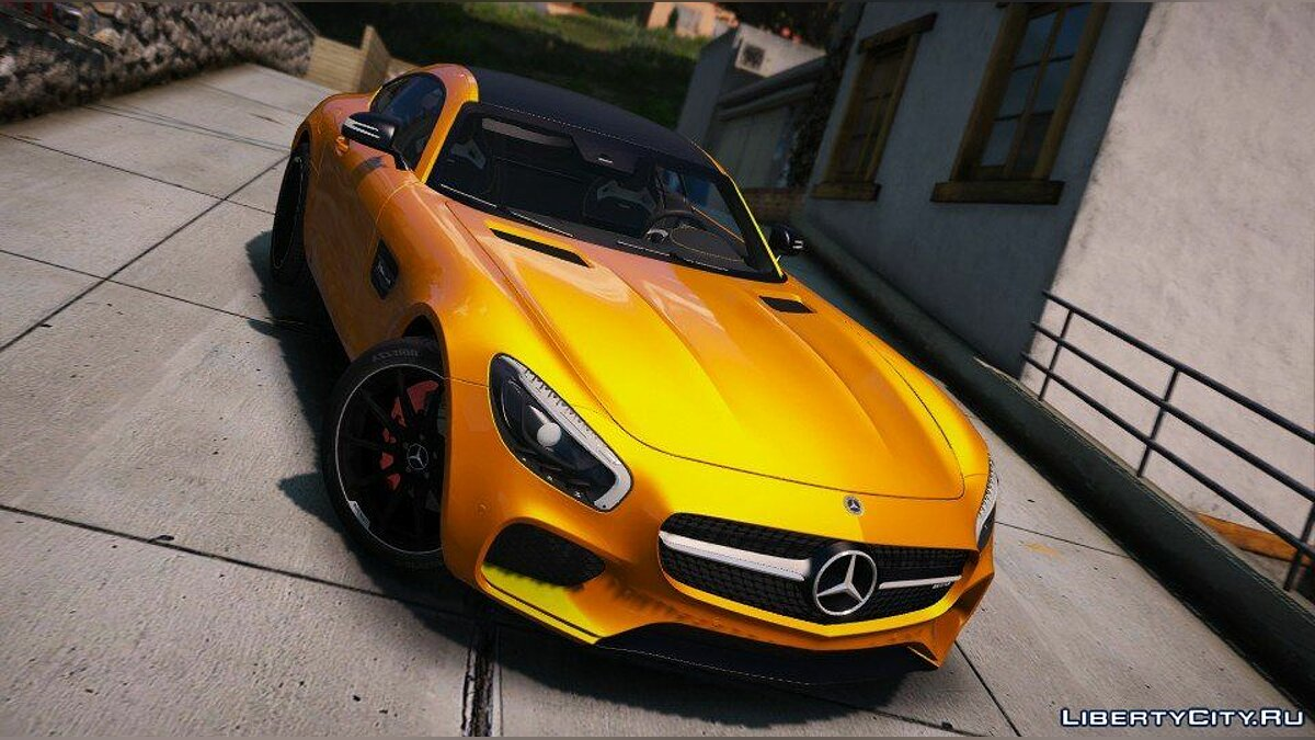 Mercedes-AMG GT S 2016 [Add-On / Replace / Auto Spoiler] 1.0 для GTA 5 - скриншот #5