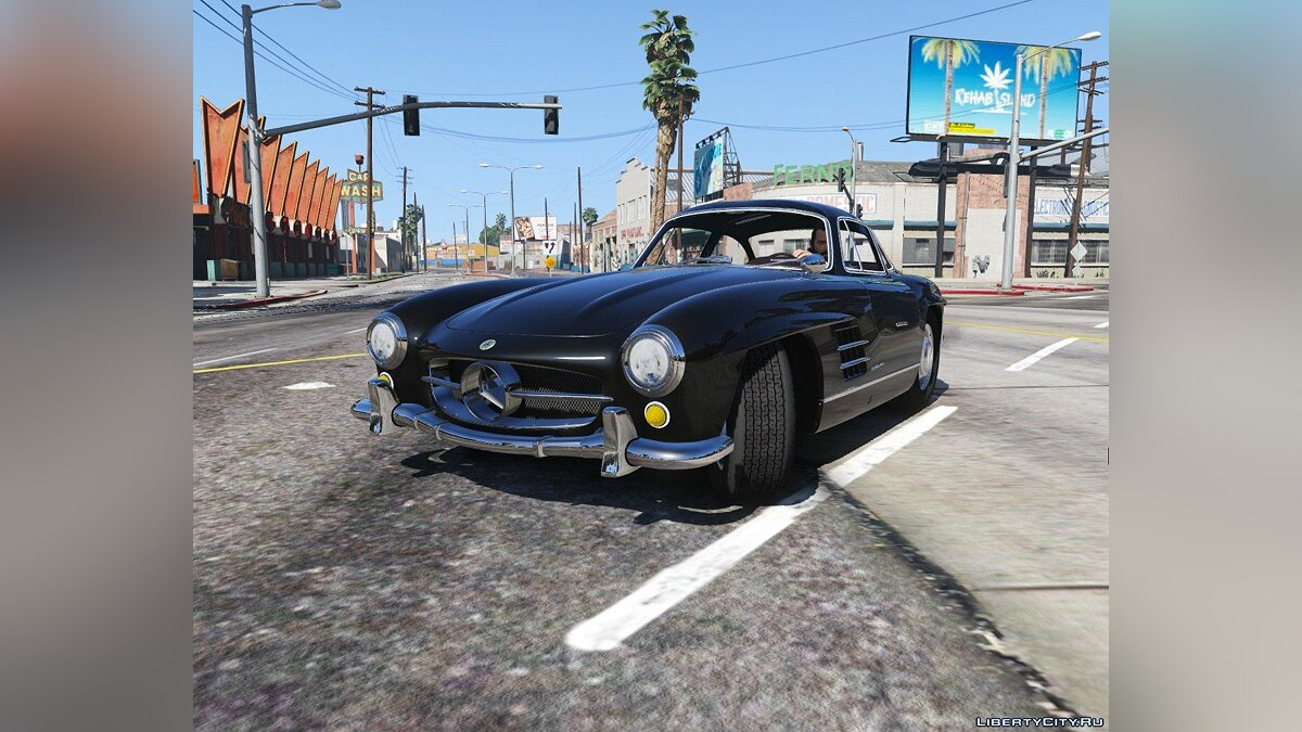 1955 Mercedes-Benz 300SL Gullwing [Tuning] 2.0 для GTA 5