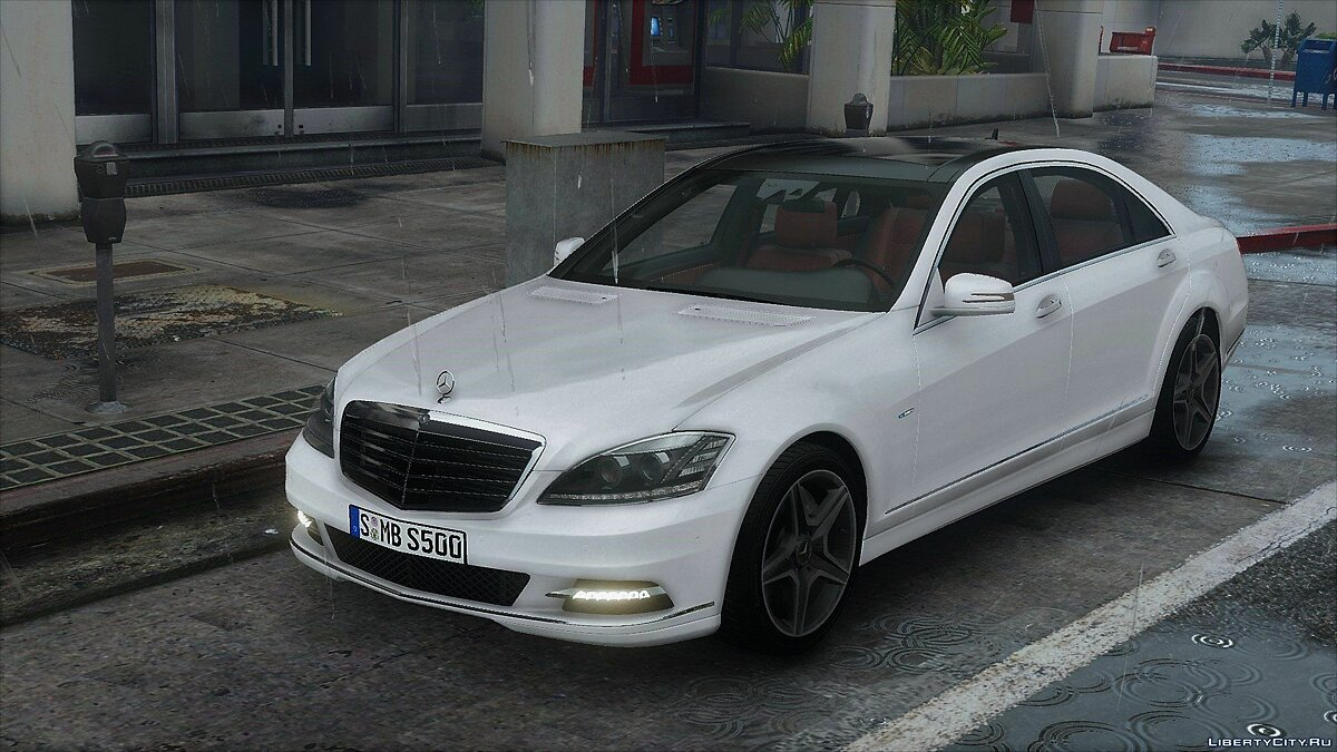 ��ашина Mercedes-Benz 2012 Mercedes-Benz S500 L 4MATIC (W221) [Add-On | Tuning] 1.0 для GTA 5