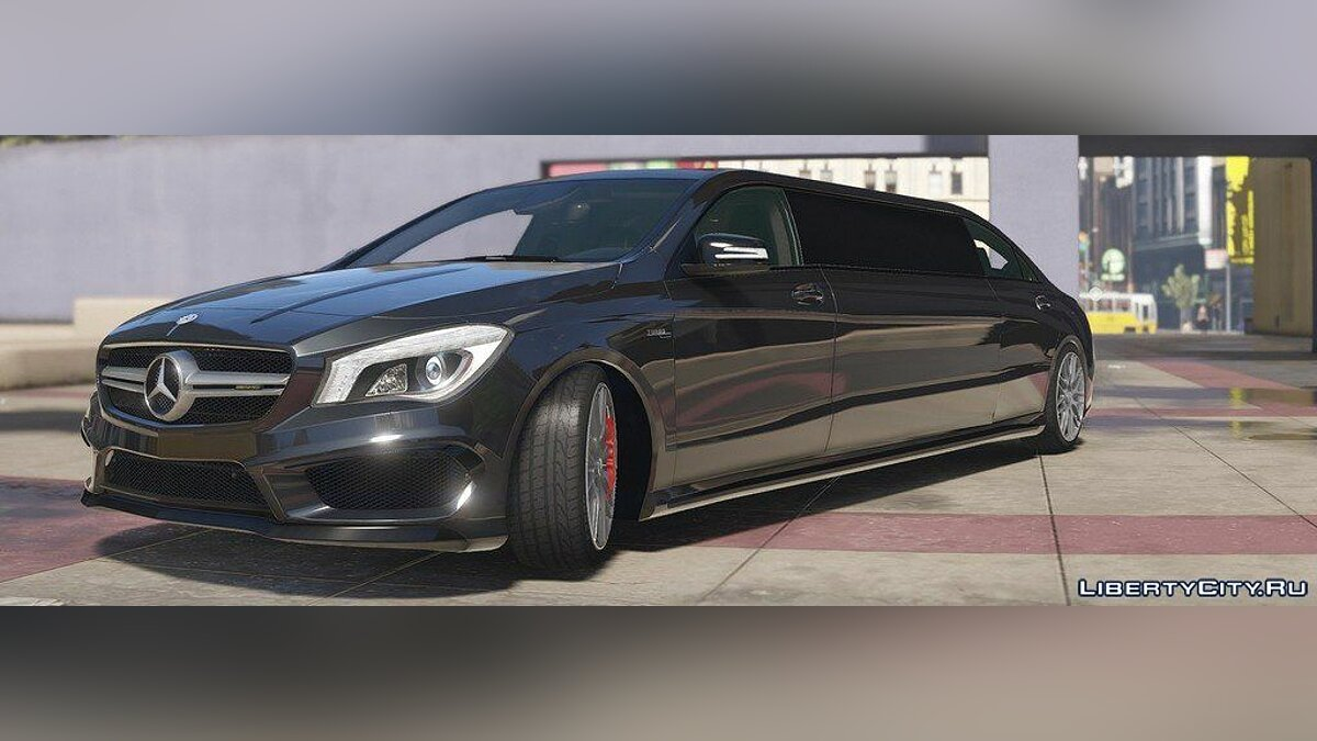 2014 Mercedes-Benz CLA 45 AMG Limousine [HQ | Replace] 1.0 для GTA 5