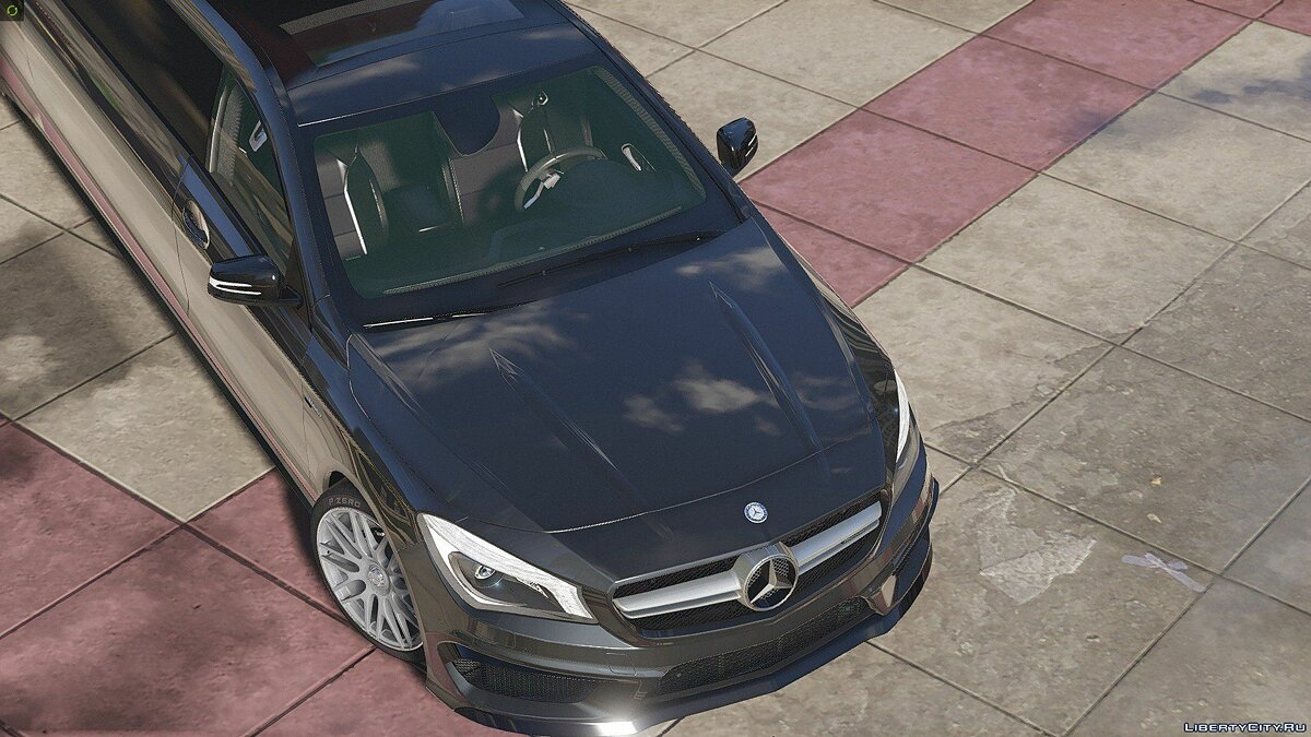 2014 Mercedes-Benz CLA 45 AMG Limousine [HQ | Replace] 1.0 для GTA 5 - скриншот #2