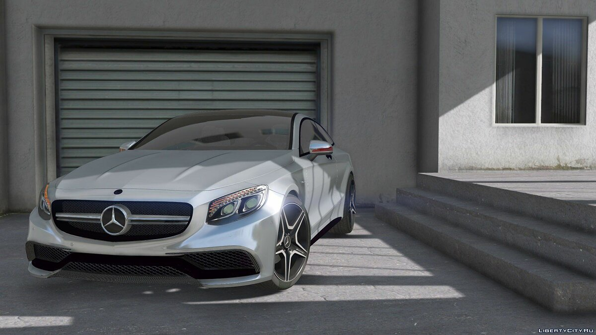 Mercedes-Benz AMG S63 Coupe 1.0 для GTA 5