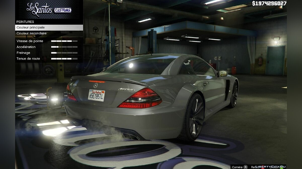 Mercedes AMG SL 65 Black Series v1.2 для GTA 5