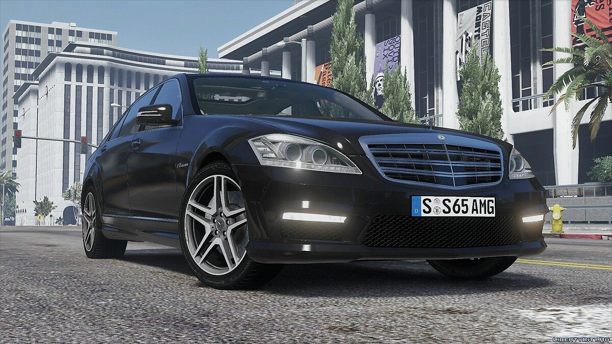 ��ашина Mercedes-Benz 2012 Mercedes-Benz S65 AMG (W221) [Add-On | Tuning] 1.0 для GTA 5