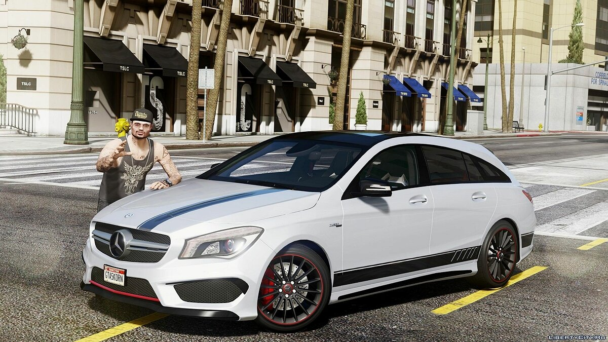Mercedes-Benz CLA 45 AMG Shooting Brake [Add-On Replace] 1.7 для GTA 5