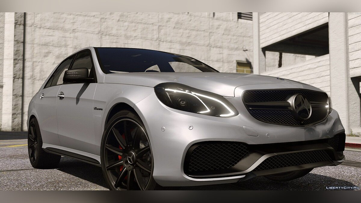 2013 Mercedes-Benz E63 AMG [Add-On / Replace | Template | Tuning] для GTA 5