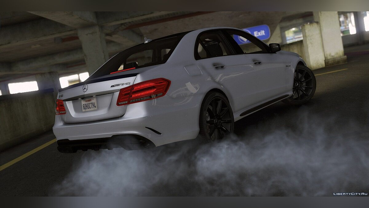 2013 Mercedes-Benz E63 AMG [Add-On / Replace | Template | Tuning] для GTA 5 - скриншот #5