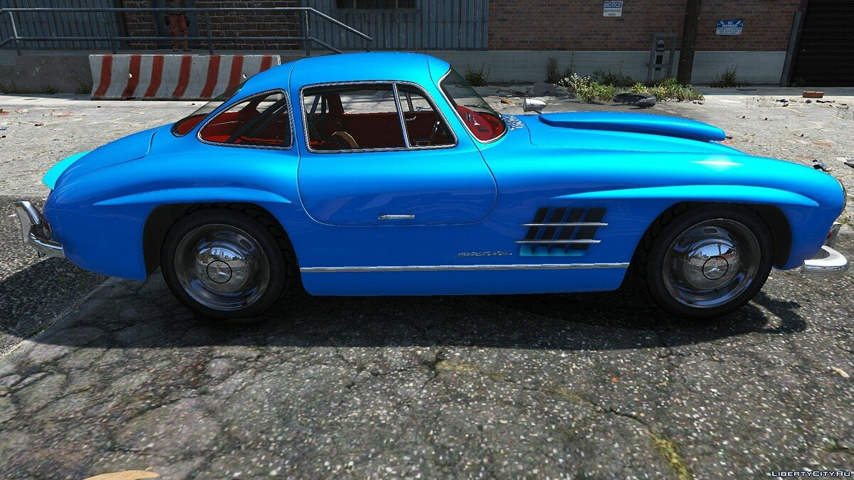 1954 Mercedes-Benz 300 SL Gullwing 1.0 для GTA 5 - скриншот #2