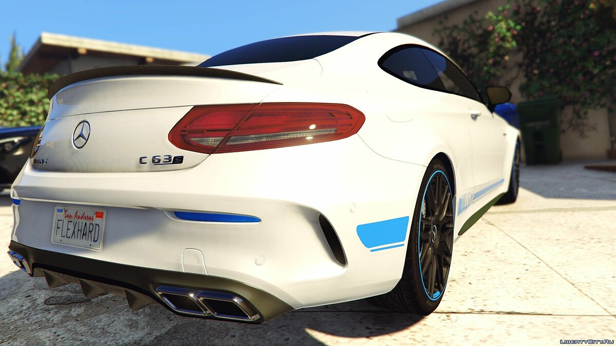 2017 Mercedes C63s AMG Coupe [Full HQ | Paintable | Replace] 1.5 для GTA 5 - скриншот #2