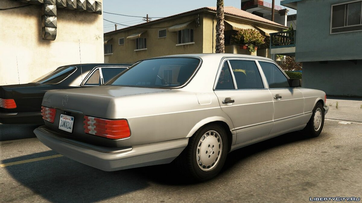 Машина Mercedes-Benz Mercedes Benz 560SEL (w126) US-spec [Add-On / Replace | Animations | Tuning | LODS] 1.0 для GTA 5